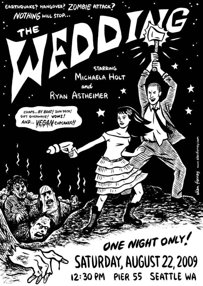 Zombie Wedding Invitation